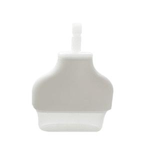 Glocke oval 28 x 12mm inkl. 2 Silikonlippen 16mm